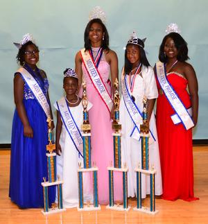 MTP ROYALTY 2016: Mikayla Middleton, Jr. Teen Promise; Jayda Bryant, Little Miss Teen Promise; Jalen Sparks, Miss Teen Promise; Jiyana Neal, Princess Teen Promise; Shaquika Hughes, Lady Ms Teen Promise. Over $10,000 in scholarships and prizes was awarded to Miss Teen Promise Royalty and Court of Honor 2016!